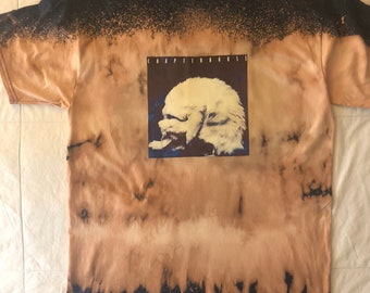 Chapterhouse LP Cover Acid Dye T-shirt Size Large Shoegaze-Shoegazing-Dreampop
