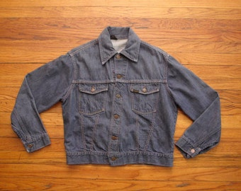 mens vintage Roebucks selvedge denim jacket