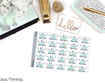 BE a GOOD HUMAN Paper Planner Stickers