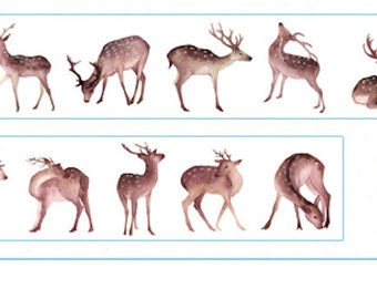 1 Roll of Limited Edition Washi Tape: OH Deer
