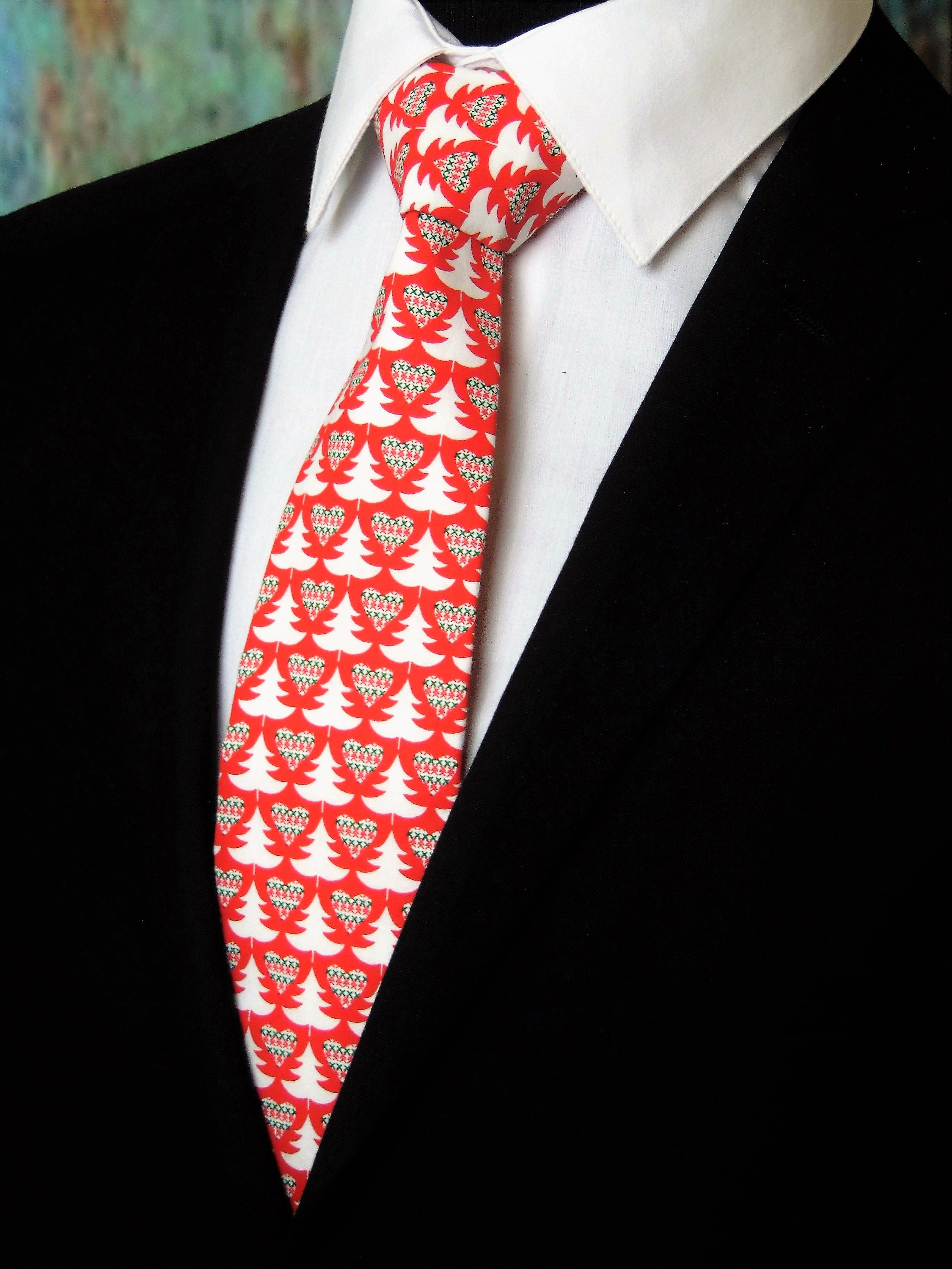 Christmas tie classic christmas neck tie for men also available as christmas tie classic christmas neck tie for men also available as a skinny tie ccuart Image collections