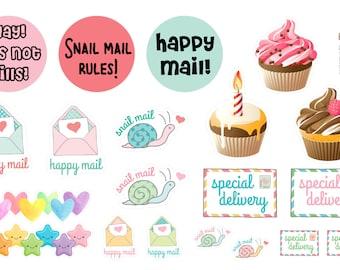 Envelope Sticker Sampler