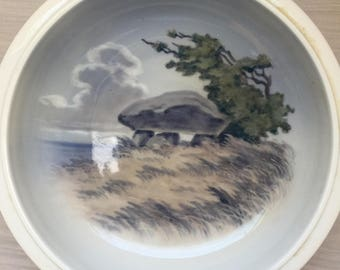 Vintage Royal Copenhagen Dish Plate