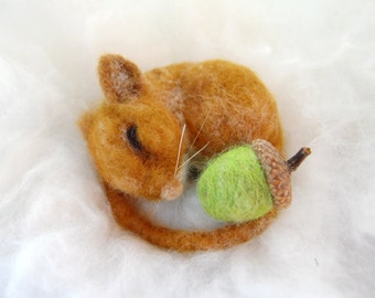 Needle Felted Mouse. Wool Felt Mouse. Cute Animals. Fall Decoration. Miniature Animal. Needle Felted Animal. Needle Felt Mouse. Felt Animal
