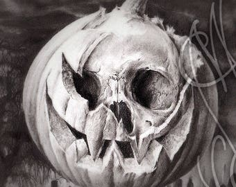 "Martinefa's original drawing - "" Halloween Oxygen """