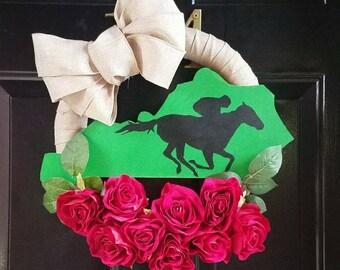 Derby Wreath- Kentucky Derby Wreath