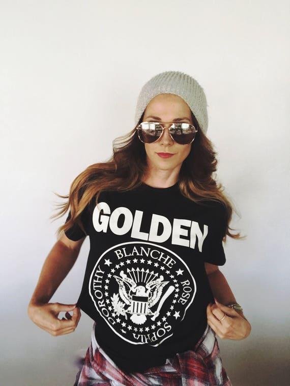 Ramones Golden Girls Parody Band t-shirt