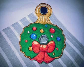 Embroidery Christmas Towel