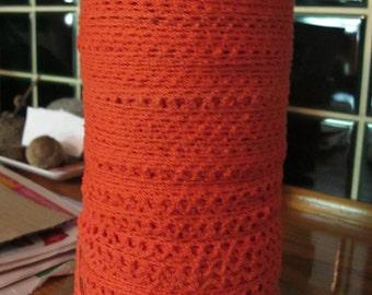 Orange Cluny Lace Trim -  5 yards for 6.00