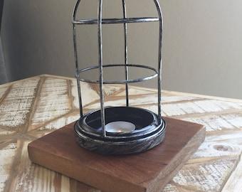 Vintage Industrial Light Fixture Tea Light Holder