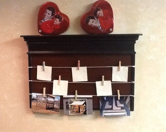 Beautiful message and picture board made for all occassions made out maple and pine board
