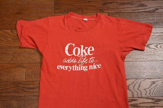 Early 1980's Coca-Cola T-Shirt (XS/S) Super Soft!!! XjC1x9