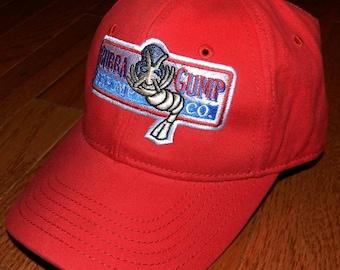 Bubba Gump Shrimp Co Hat Run Forrest Gump Tom Hanks Halloween party costume red cap