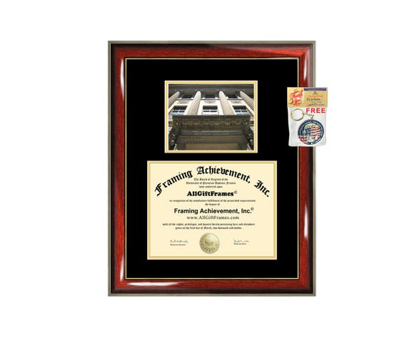 Baruch College CUNY diploma frame certificate degree frames