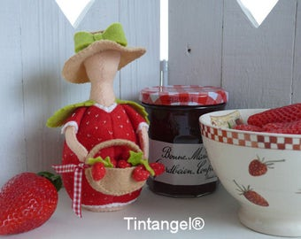 Summer dreams Strawberry - PDF pattern - instand download
