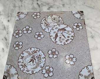 Vintage Mintons Japanesque Ceramic tile