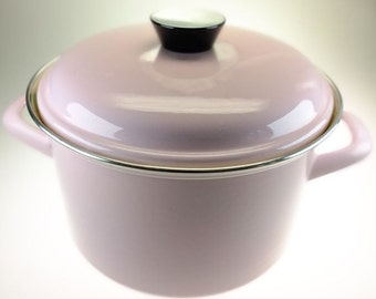 Cooking pot enamel pot enamel pot pink