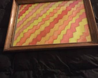 This is a zigzag design.