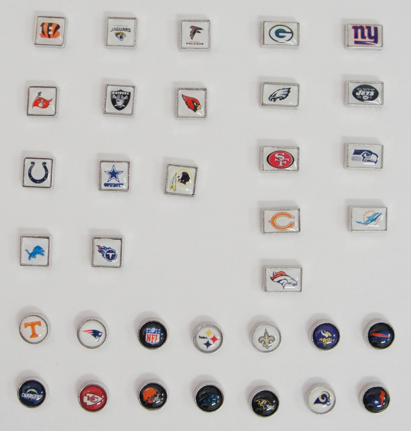 Locket charms sports teams fits origami owl living zoom jeuxipadfo Gallery