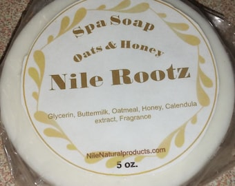 Nile Rootz Oatmeal & Honey Spa Soap