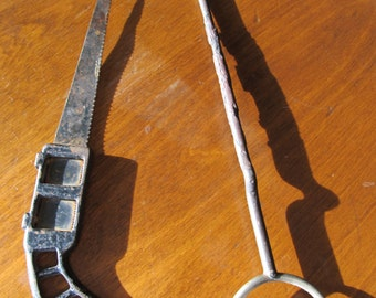 Vintage Saw and Ice Pick Tools