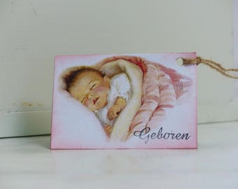 Label-gift/Label card baby