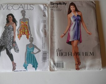 Halter Style Dress and Top Patterns