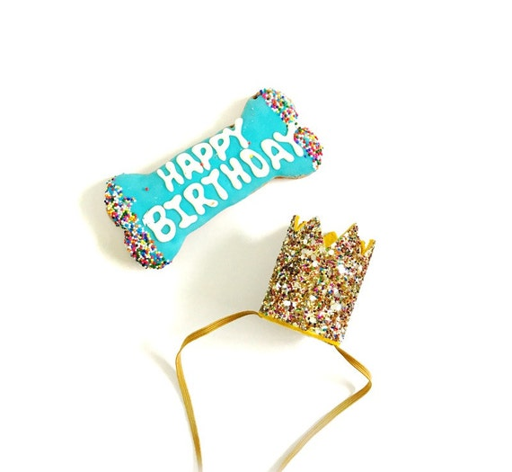 Animal Birthday Hat || Dog Hat || Kitty Cat Birthday Crown || Animal Crown || Animal Party || Birthday Party Photo Prop || Confetti Glitter
