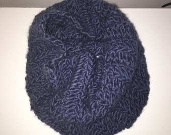 Cowl Scarf in Navy