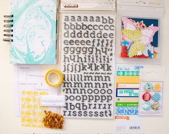 You're awesome Mini Album / Journal and Scrapbook Kit