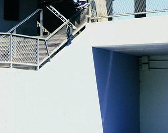 Autographed Leap of Faith Skateboarding Photograph - Jamie Thomas 1997 Skateboard Photo - 11X14 18X24 30X36