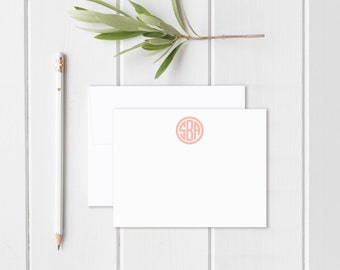 Personalized Stationary. Personalized Notecard Set. Stationary. Monogram Stationary. Monogrammed. Thank You Notes. Thank You Cards. [sku 8]