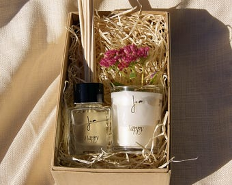 Happy Fragrance Gift Set - Natural & Made in the UK