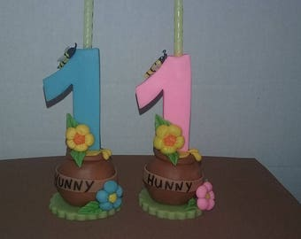 Hunny candle numbers