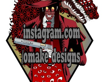 Hellsing Alucard Neo Traditional HD Digital Art