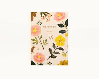 Garden Bloom Notebook - Cream