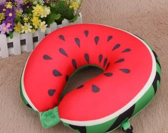 Fruit U Shaped Travel Pillow