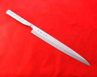 SENGEN KANEMITSU/ALL Stainless Steel,Japanese Professional Yanagiba(Sashimi Knife)