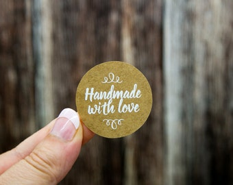 """Handmade with Love Labels 