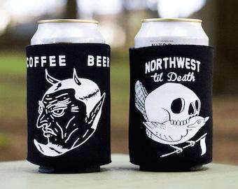 Devil In The Decaf x Northwest Till Death Can Cooler