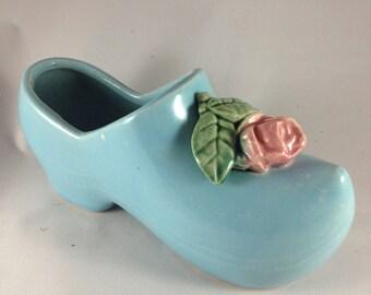 Vintage McCoy Pottery Dutch Shoe Planter