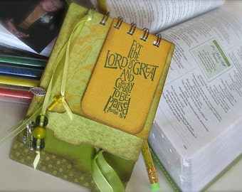 Mini faith journal - Christian