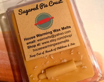 Sugared Pie Crust Wax Melt, House Warming Wax Melts, Soy tart, wax tart