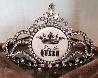 I'm the Queen Tiara