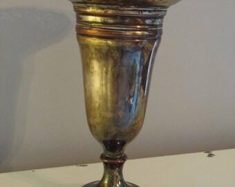 VINTAGE SILVER PLATE Vase