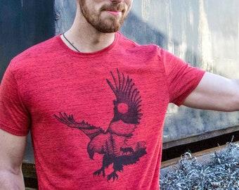 Mens Gift, For Men Tshirt, Nature Lover Gift, Bird Lover Gift, Camping Shirt, Nature Shirt, Bird TShirt, Eagle Shirt, Bird Shirt