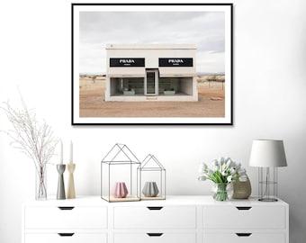 Prada Marfa Desert Art Print