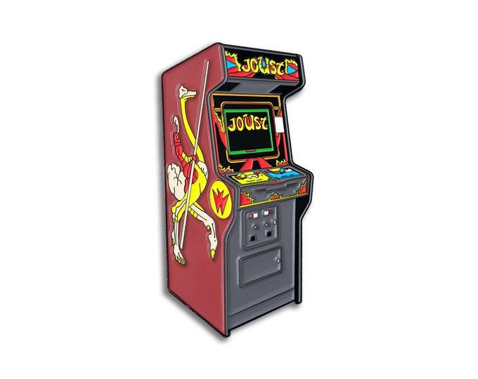 Ostrich Arcade Pin
