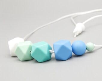 """Necklace/Still Chain """"Aruba"""" Silicone Jewelry"""