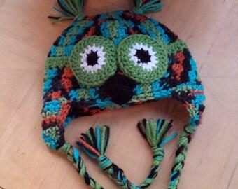 Handmade Baby Hat/ Cute Owl Hat